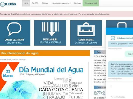 Dposs ya funciona el servicio de oficina virtual en el for Oficina virtual del